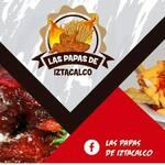 Logotipo Las Papas de Iztacalco (Tezontle)