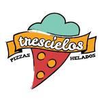 Logotipo Trescielos Pizzas y Helado Juarez