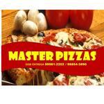 Logotipo Restaurante Master Burguer e Pizzaria