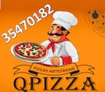 Logotipo Pizzaria Qpizza