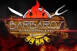 Logotipo Barbaros Grill Alitas Costillas