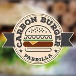 Logotipo Carbón Burger Parrilla