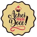 Logotipo Achei Meu Doce