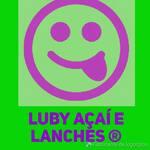 Logotipo Luby Açaí e Lanches