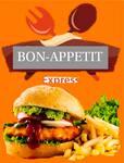 Logotipo Bon-apetit express