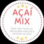 Logotipo Açaí Mix Ponta Negra