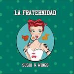 Logotipo La Fraternidad Burgers & Wings Portales