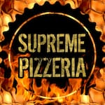 Logotipo Supreme Pizzeria