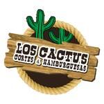 Logotipo Los Cactus Cortes & Hamburguesas