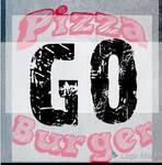 Logotipo Pizza Burger Go