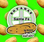 Logotipo Botanas Santa Fe