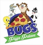 Logotipo Bugs Pizza Palace