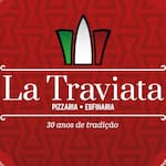 Logotipo La Traviata Pizzaria e Esfiharia