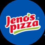 Logotipo Jenos Pizza (Puente largo)