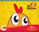 Logotipo Jet Chicken Frango Frito