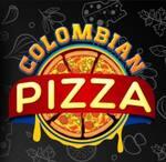 Logotipo Colombian Pizza
