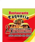 Logotipo Taqueria 2 carboncitos