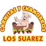 Logotipo Carnitas y Chamorros Los Suarez l
