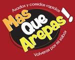 Logotipo Mas que Arepas Olaya