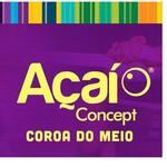 Logotipo Açai Concept Coroa do Meio