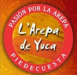 Logotipo L' Arepa de Yuca