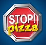 Logotipo Stop Pizza Bh