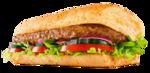 Sanduíche steak churrasco - 15 cm