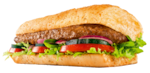 Sanduíche steak churrasco - 30 cm