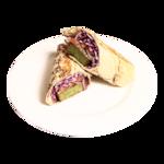 Kebab de falafel (vegano)