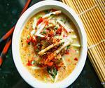 Sopa - legumes com quinoa e frango