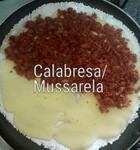 Tapioca de Calabresa c/Mussarela ( cód. CAL )