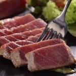 Sashimi de Atum Selado