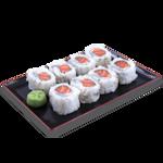 Uramaki de salmão (08 unidade)
