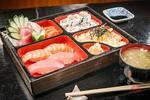 Box black sushi