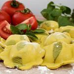 1kg torteli recheado de musssarela de búfala tomatinho cereja e manjericão (massa congelada)