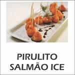 Pirulito de salmão ice