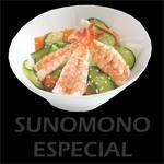 Sunomono com camarão