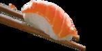 Niguiri salmão 4 unidades