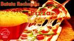 Batata recheada de pizza