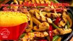 Batata recheada de mexicana frango