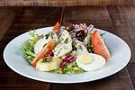Salada de lascas de bacalhau (individual)