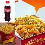 Box galinhada+batata frita+coca mini
