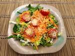 Salada orgânica