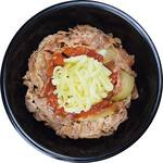 Gyu-Don tomate e queijo + combo