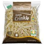 Batata crinkle bem brasil