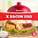 X-bacon egg
