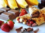 69 - chocolate com morangos - porção individual