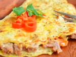 Omelete point com cheddar cremoso