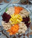 01. Salada de Frango Desfiado