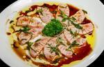 Sashimi roasted no alho